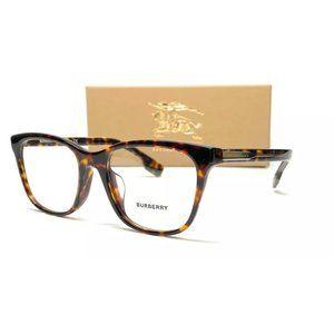 Burberry Men's Havana Rectangle Eyeglasses!